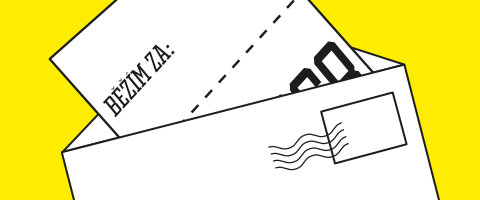 Startovní číslo poštou
